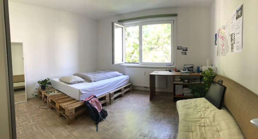 Bright Room in Student Flat