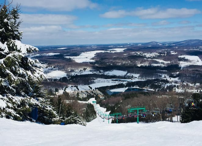 Amazing view from the top of Elk Mountain