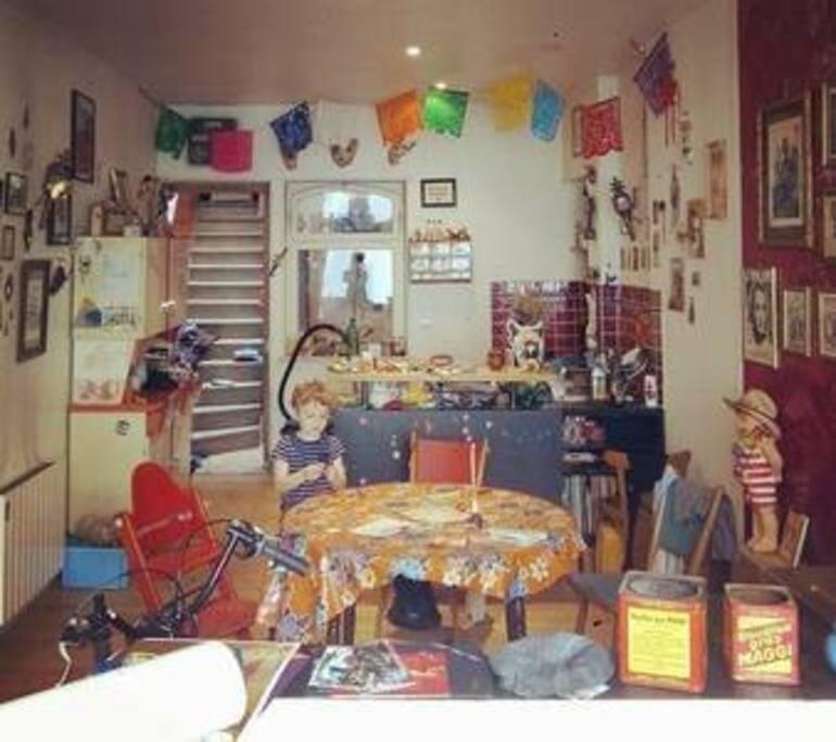 Tage d 39 un charmant triplex atypique lofts zur miete in for Salon loft metz
