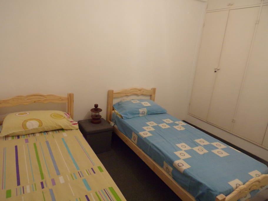 Misma Habitación 2 camas simples