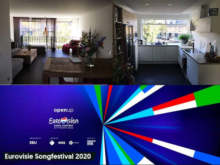 Eurovision Luxurious house (max 8) with drivercook