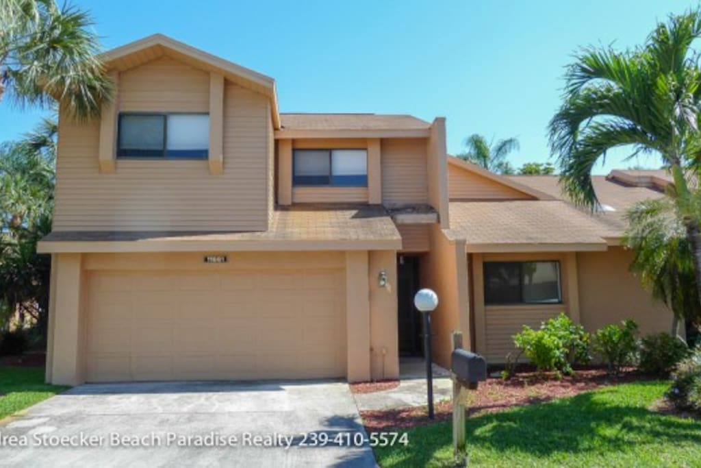 Beautiful townhouse close to beach maisons de ville louer fort myers floride tats unis - Maison jardin senior living community reims ...