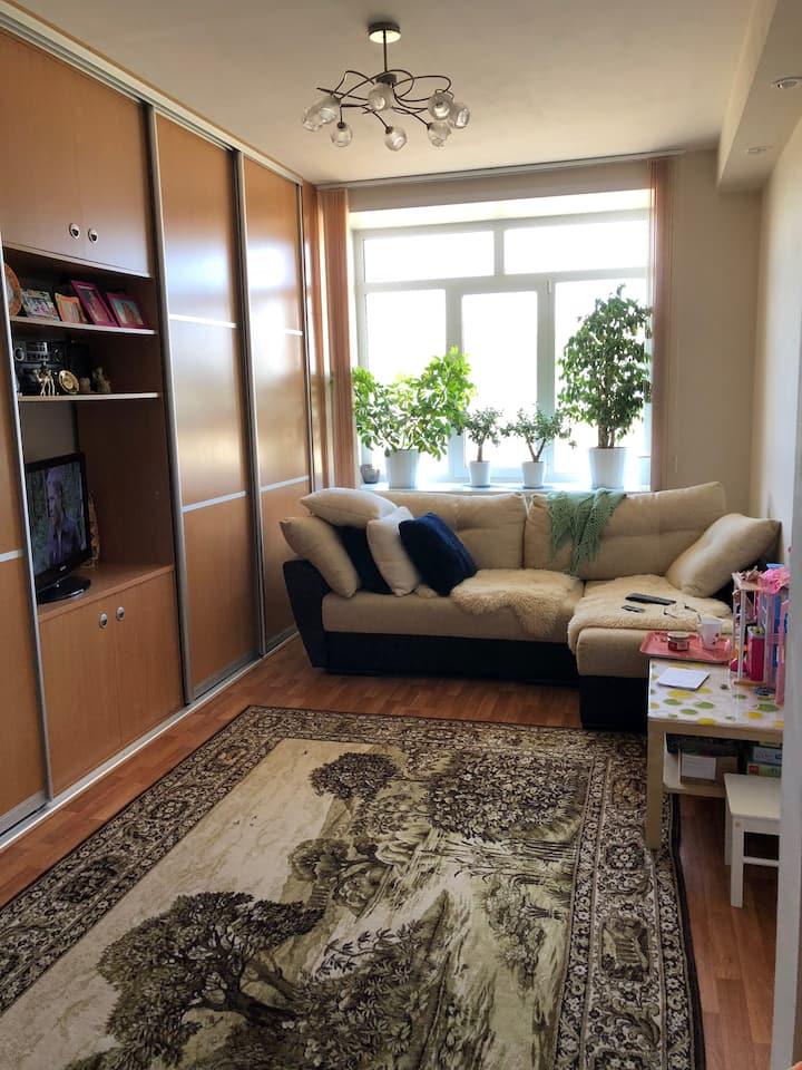 A cosy two room apartment. FIFA2018 Kazan.