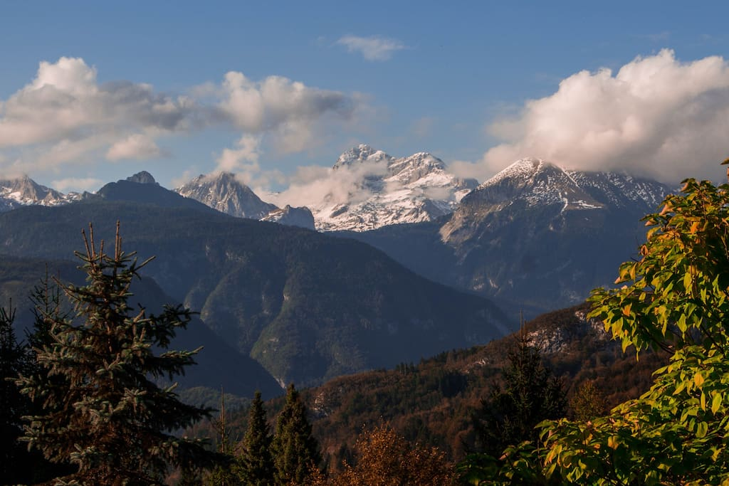 Mountain view (Triglav)