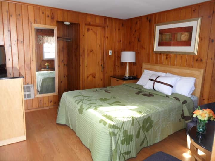 White Cabin with Queen Bed-2