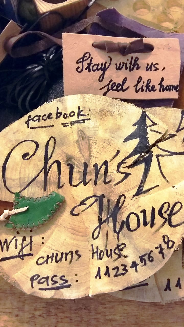 Chun's House - A nice apartment by beautiful city