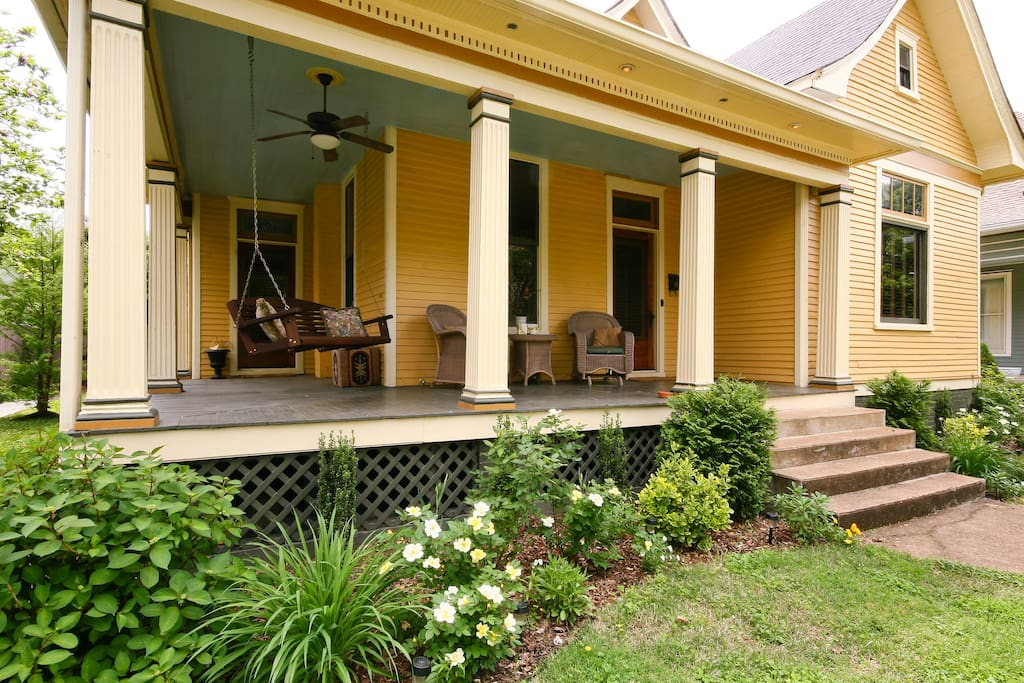 Front Porch for Relaxing