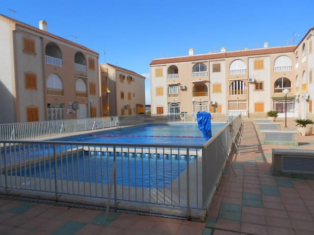 tourist apartment with swimming pool and Wi-Fi
