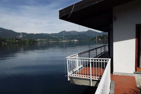 waterfront cottage on lake Orta - Orta San Giulio - キャビン