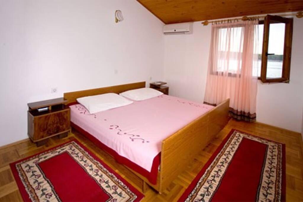 Bedroom in Lavander appartament