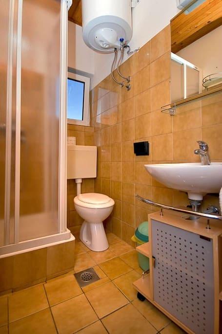 Bathroom in Lavander appartament