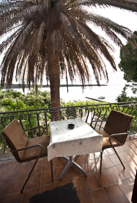 Romantic Salvia balcony