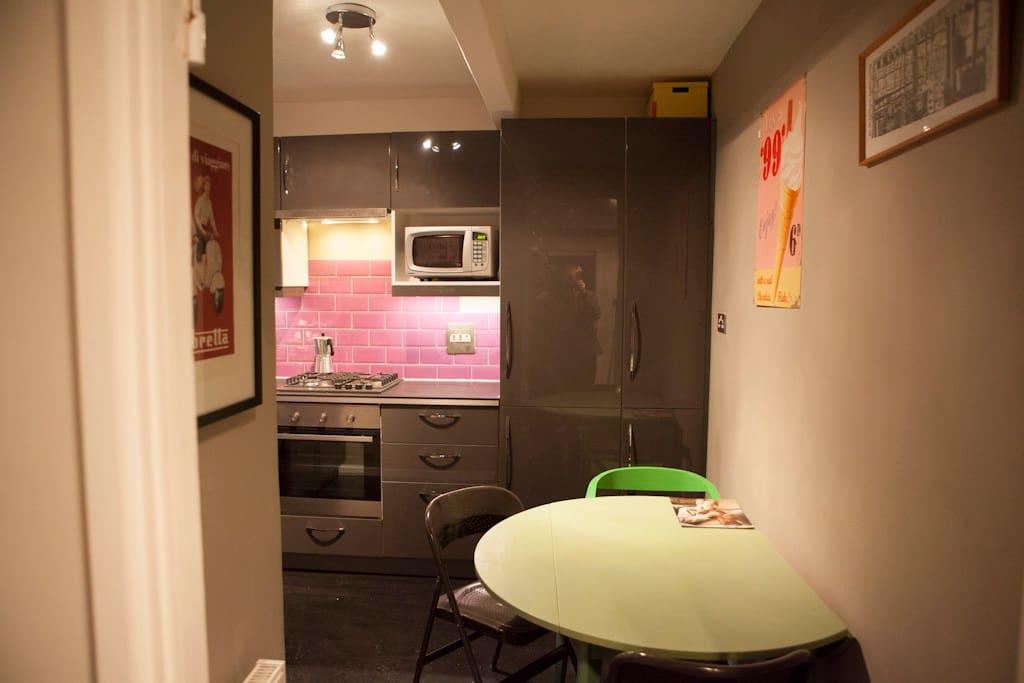 modern refurbished flat