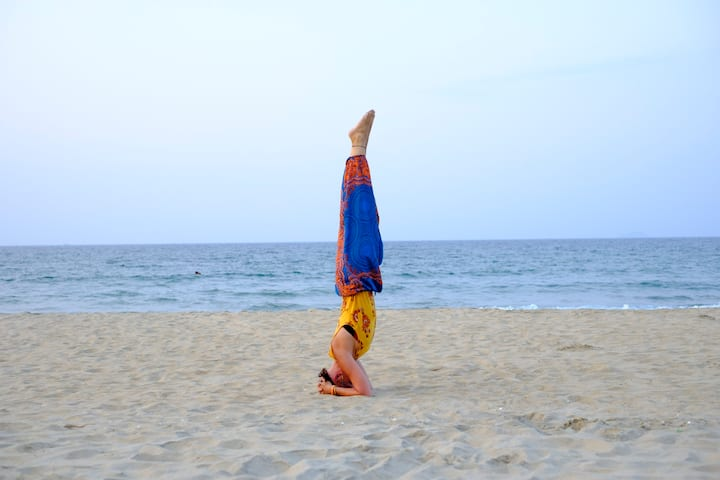 No headstands – unless you want to try!
