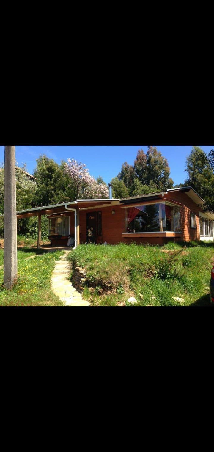 Hermosa casa camino Niebla, 15 minutos de Valdivia
