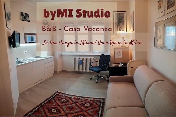 byMI Studio: monolocale completo e accogliente