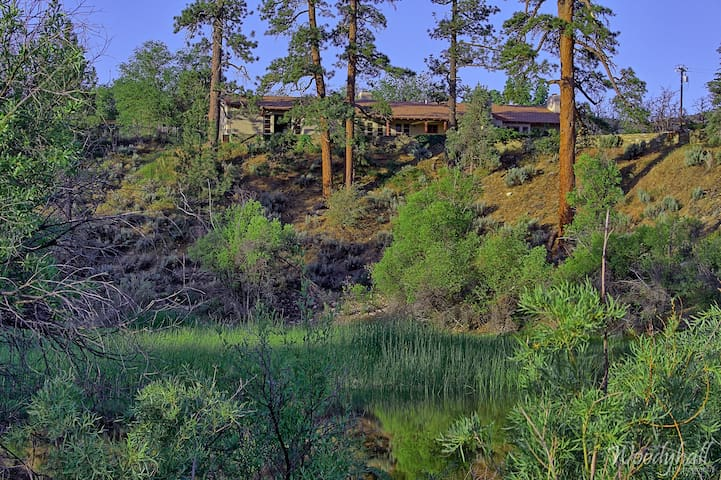 175+ Acre Mountain Valley Retreat & Dude Ranch - Frazier Park - Huis