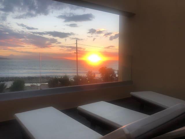 Villa Kouvohori loft 2 bedrooms sea front