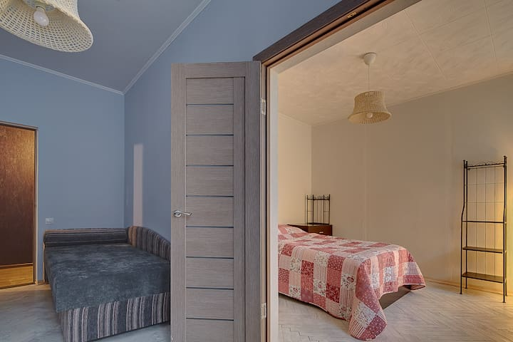 Bedroom 2 and 1