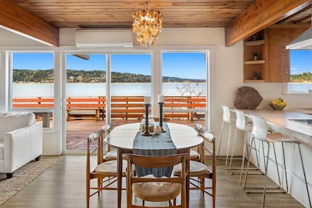 No-bank Beach House Retreat w/ Kayaks & P-boards - Gig Harbor - Haus