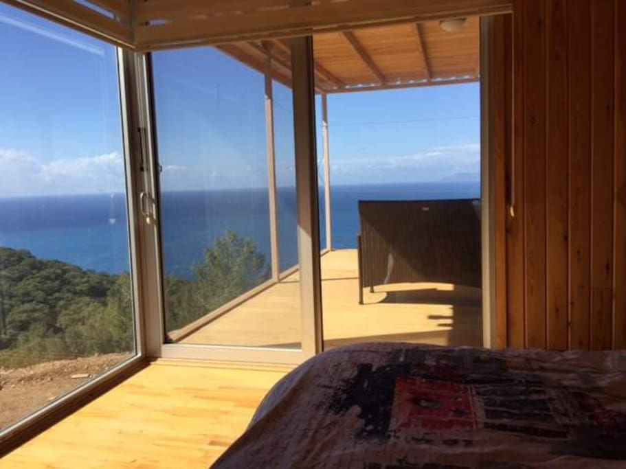 bedroom and the view from within