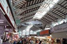 interior de mercado central