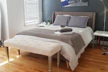 Luxury duvets & fluffy pillows!