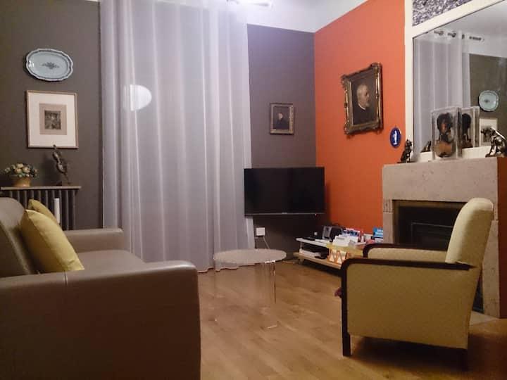 Appartement de charme années 30