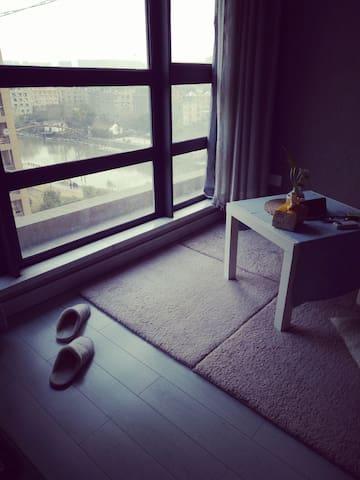 安全感爆棚的小窝(是合住噢男生勿扰谢谢~) - Hangzhou - Appartement
