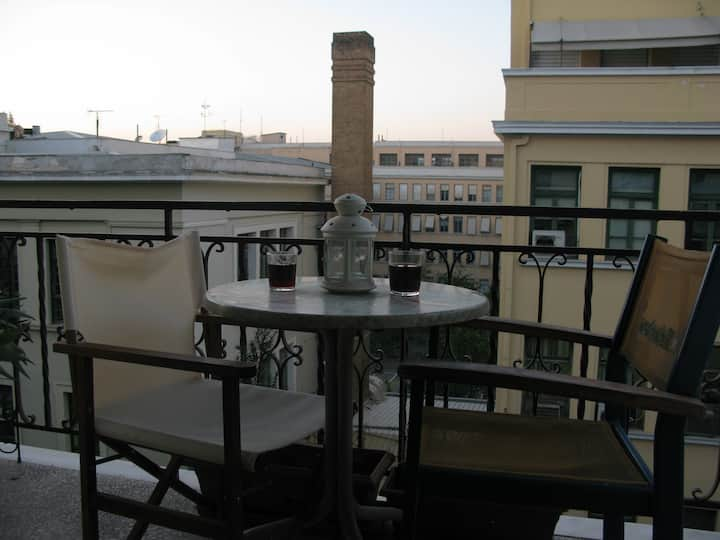 Chimney (private balcony)