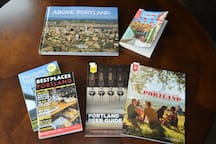 I collected lots of Portlandy travel books.