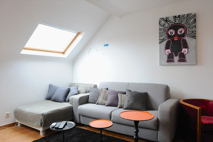 Lovely flat - Place Flagey !  - Ixelles