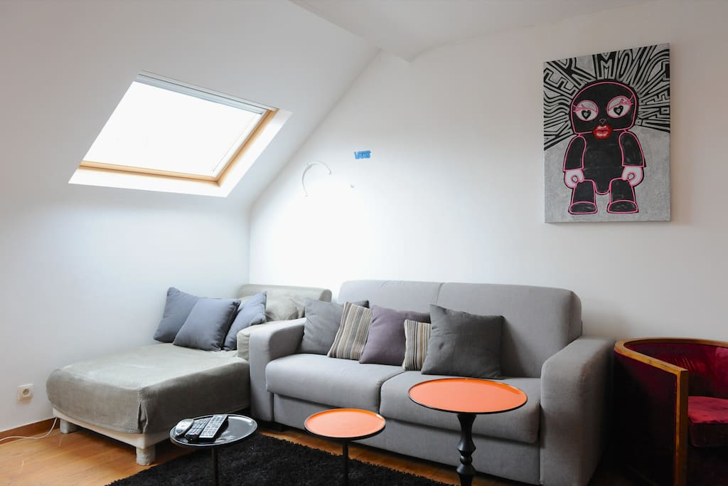 lovely flat place flagey appartements louer ixelles bruxelles belgique. Black Bedroom Furniture Sets. Home Design Ideas