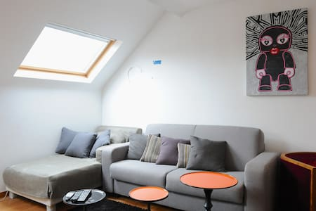 Lovely flat - Place Flagey !  - Ixelles - Apartmen