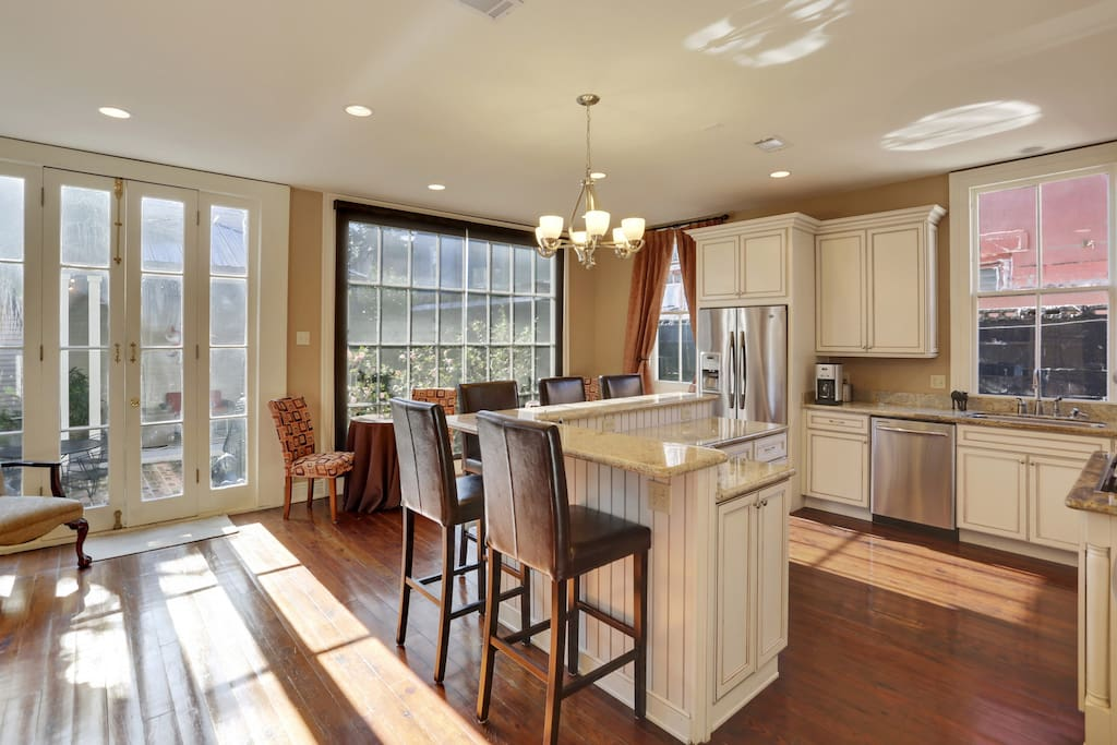 Our newly renovated kitchen.   Great, huh?
