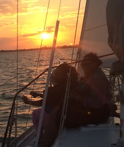 Overnight on a sailboat in Fl Keys! - Marathon - Barco
