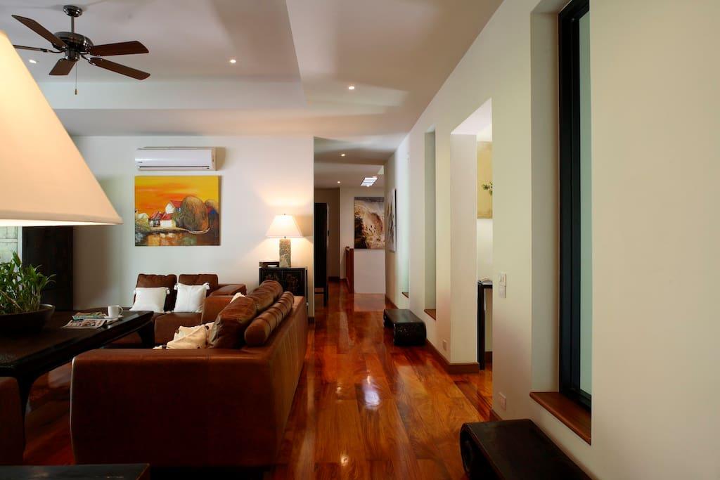 Luxury furniture and beautiful decoration