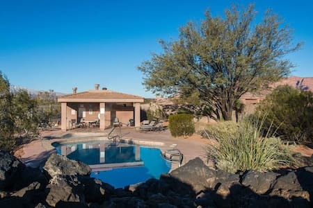 Entrada Snow Canyon 3 BD/3BA Gated Comm. with Pool