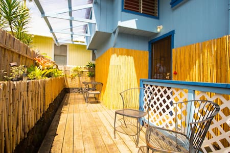 Private single unit with twin bed - Hilo - House