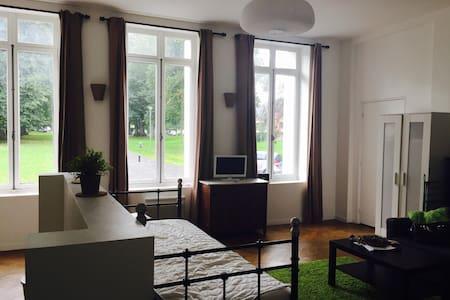 Grand studio au sein du château de Pretreville - Gonneville-sur-Honfleur - Appartement