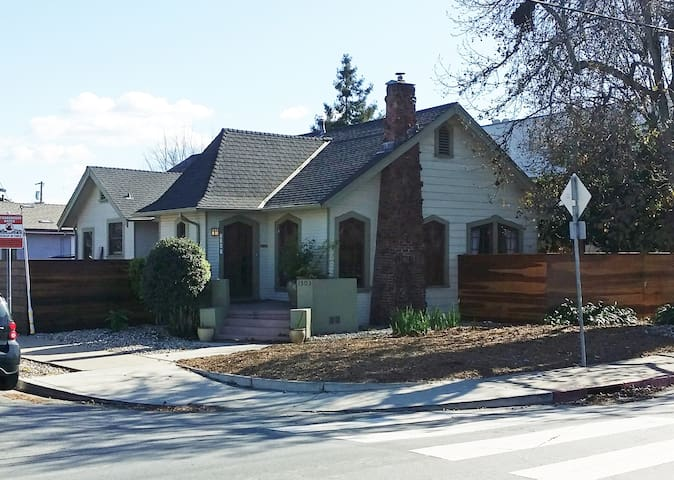 Charming cottage style near RWC - Redwood City - Dom