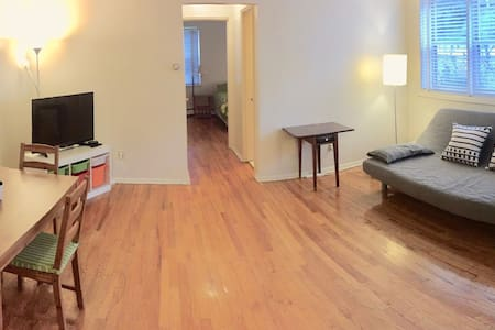 ENTIRE-Charming/Luminous 1 BEDROOM APT-near NYC!