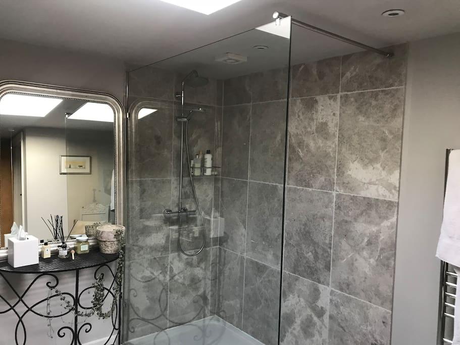 Shower area of bath/shower room (inc loo)