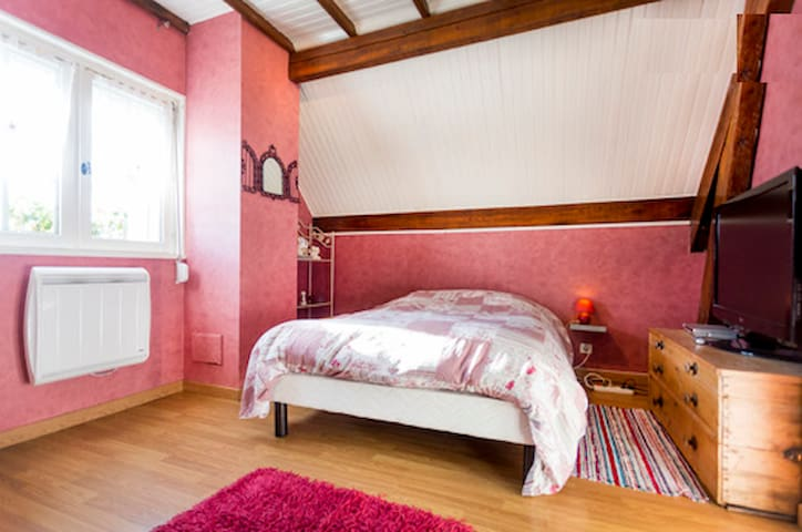 Very nice room in the countryside! - VIVIERS - Casa