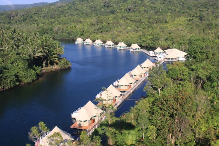 4 Rivers Floating Lodge 1 - Phum Daung Bridge, Tatai