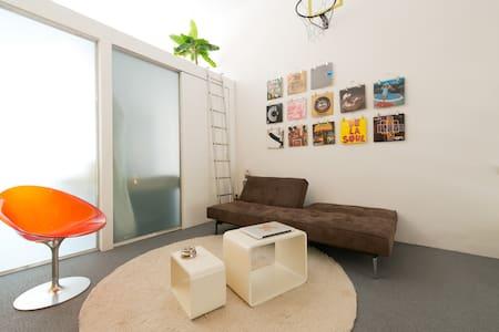 PLAYFUL SPLIT-LEVEL LOFT+GARDEN - Amsterdam - Loft
