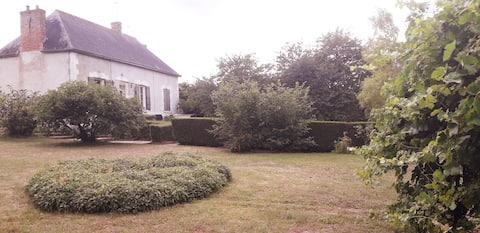 Maison de Charme à Lancôme avec jardin/wifi