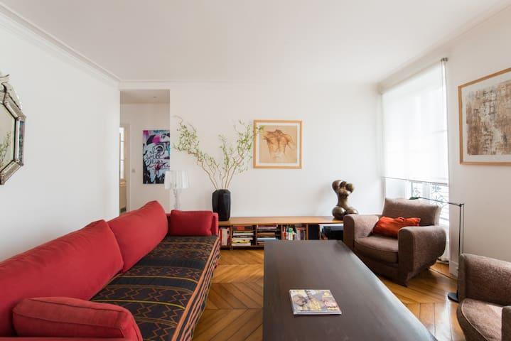 Spacieux appartement à Batignolles