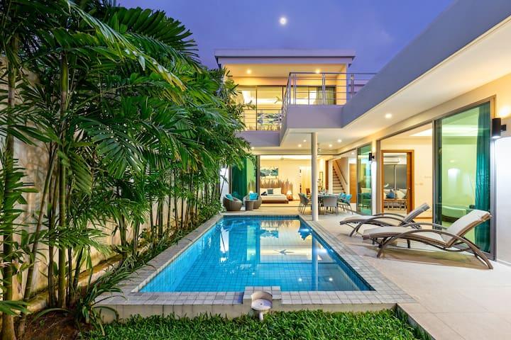 4卧精品别墅❱Ka Villas❰别墅小区,靠近拉威海鲜市场