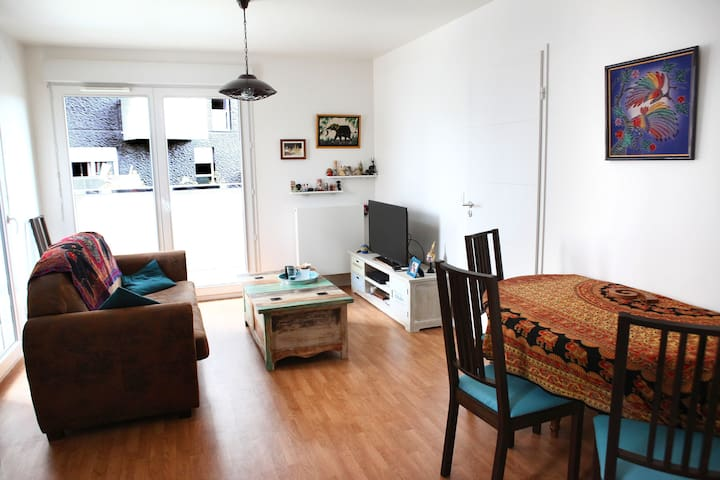 Full Appartement 2 double bed, Ivry sur Seine